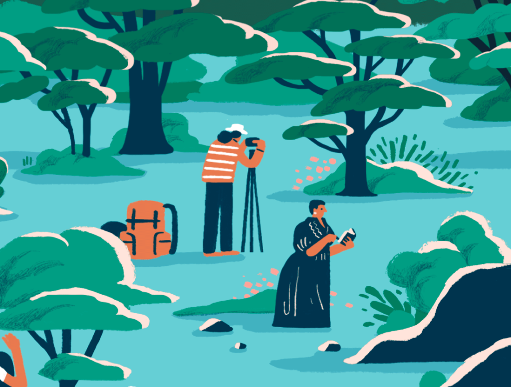 Thai illustration 2021