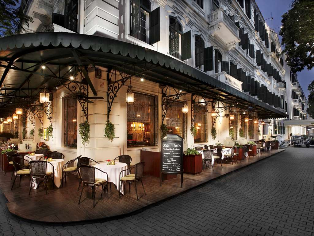 French Colonial hotel Hanoi