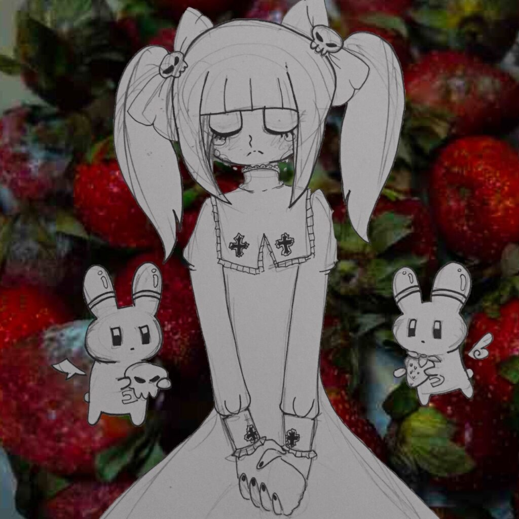 Yamikawaii illustration