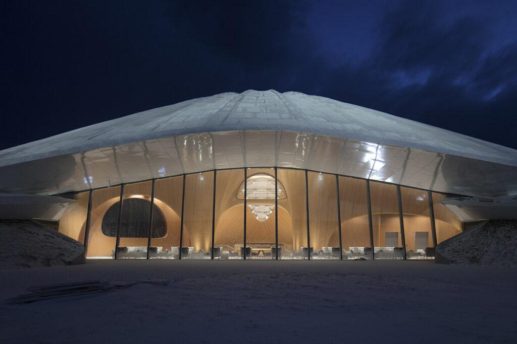 Yabuli Entrepreneurs' Congress Center nighttime