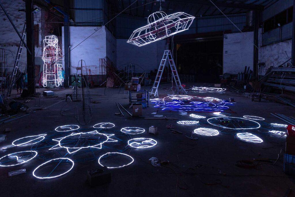 Cai Guo-Qiang exhibition